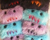 Custom Bright Blue,Tissue Monster, u pick the teeth color