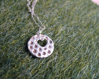 honeycomb heart necklace - honeycomb necklace - honey comb pendant - bee necklace - honey bee necklace - bee necklace - bee charm - truche