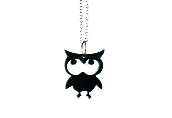 owl man - acrylic.