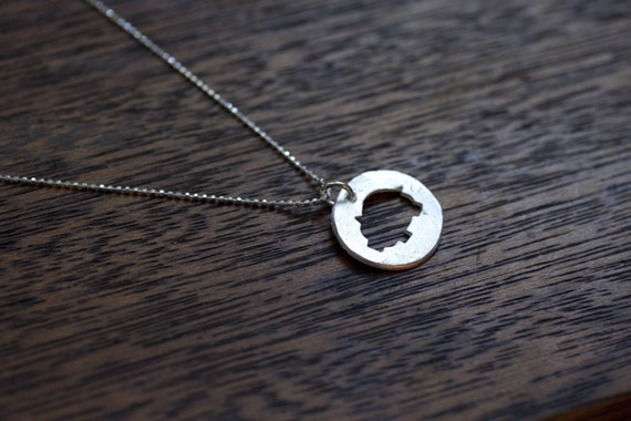 Little Pig Necklace - Sterling Silver Pig Jewelry - This Little Piggy - Animal Necklace