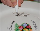 Ceramic Signing Pen for Serendipity Crafts Clients