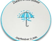 Bridal Showers of Happiness Personalized Signature Platter