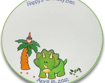 Little Dinosaur's 1st Birthday Signature Platter