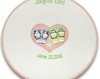Flip Flop Beach Wedding Signature Platter