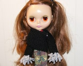 Hand Knit Wrap-around Doll Shrug