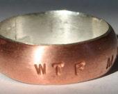 WTF Mates Ring