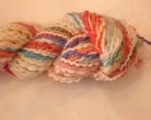 Candy Stripe Handspun Yarn