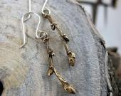 Branch Earrings, Twig Earrings, Twig Jewerly