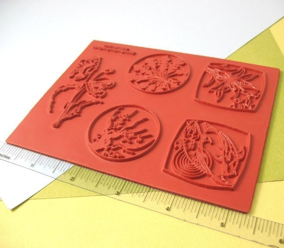 Garden Pond Collection, Unmounted Rubber Stamps Sheet