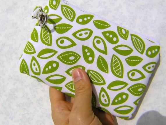 30% off Gadget bag, iphone pouch, travel pass, card wallet - Modern flora herb