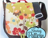 Messenger Bag PDF Sewing Pattern (Email Delivery)