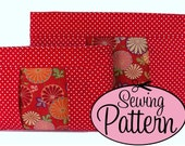 Sewing Pattern - Inset Zip Clutch and Pouch - PDF (Email Delivery)