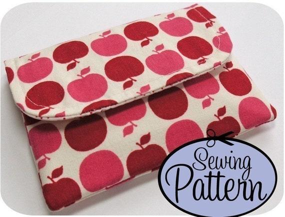 PDF Sewing Pattern - Basic Wallet