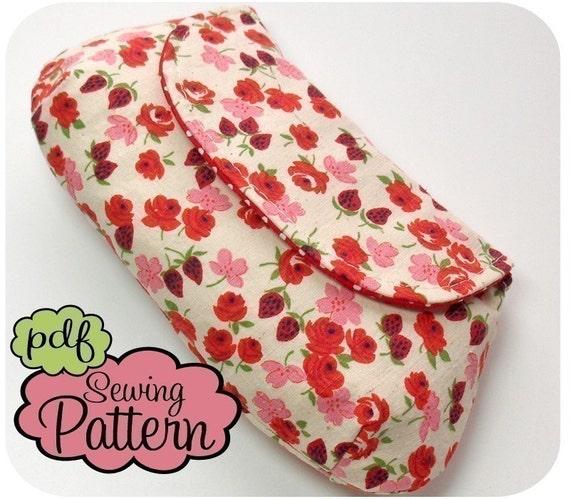 Curvy Clutch/Wristlet PDF Sewing Pattern