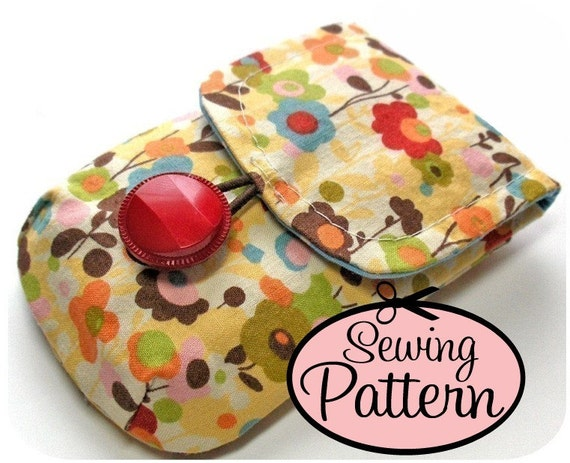 Cell Phone Case PDF Sewing Pattern