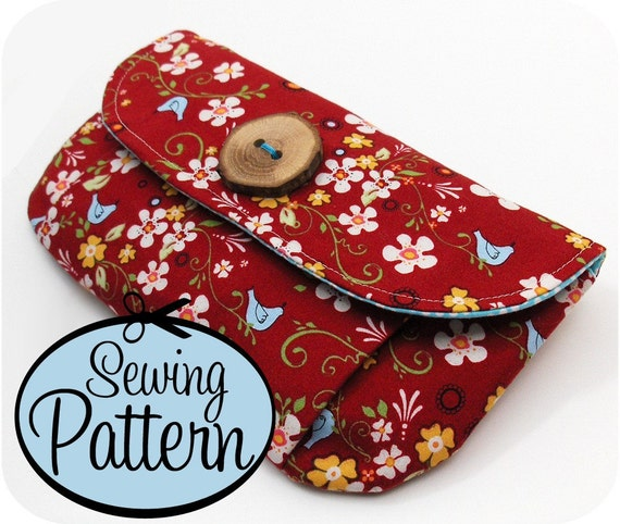 Pleated Pouches Sewing Pattern - 3 Sizes - PDF Pattern (Email Delivery)