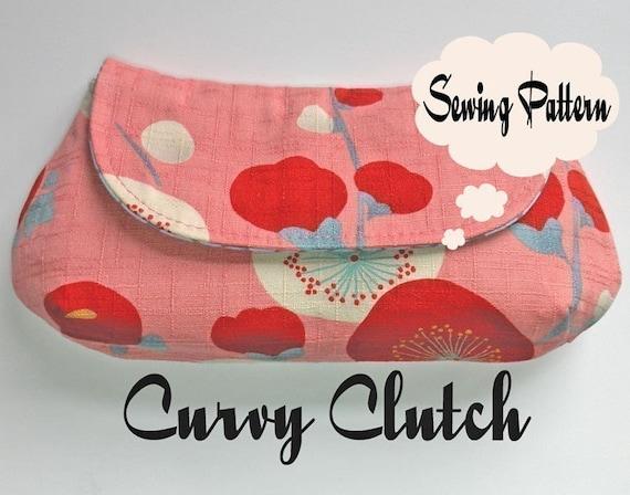 Curvy Clutch\/Wristlet PDF Sewing Pattern