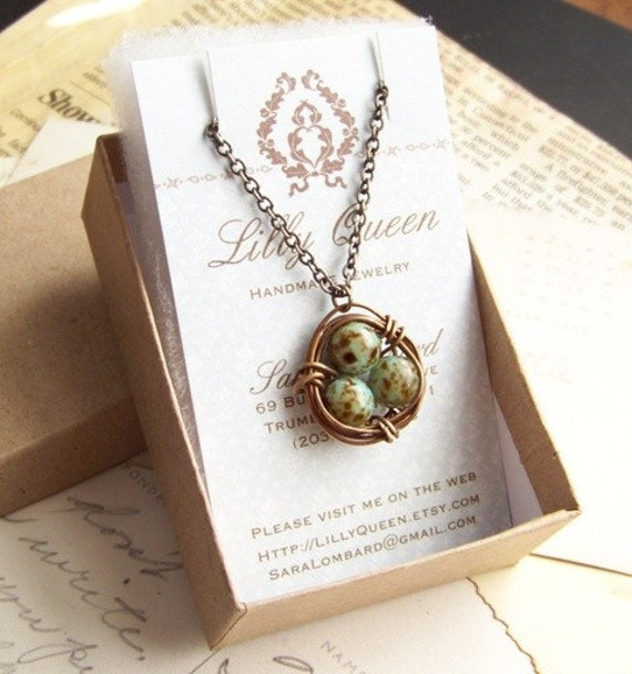 PREORDER - Robins Nest - necklace