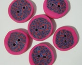 Pomegranate Buttons