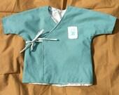 Infant Kimono Green Kappa