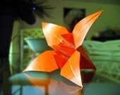Origami Tiger Lily (Customizable Colour)