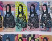 Full Sheet Mona Lisa Artistamps
