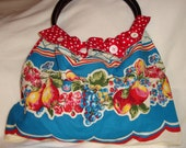 Reserved for OneWildHare - Retro  Fruity Shoulderbag