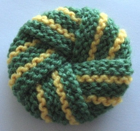 Knit Scrubbie Pattern : Knitting pattern for tawashi knot PDF by arpelia on Etsy
