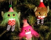 Elf Chum plush ornament pattern PDF