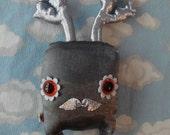 Robo Elka - Garden Variety - plush stuffed creature by Jenny Harada