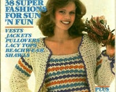 McCalls Crochet It Retro Patterns Shawls Hats More