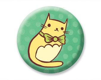 Cat Bowtie Mirror / Cat Bow Tie Mirror / Cute Pocket Mirror Party Favor Cat Mirror