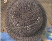Crocheted Wool Hat