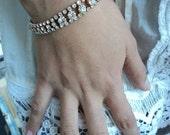 Vintage Fancy Rhinestone Bracelet