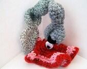 SALE - OOAK Art Doll Monster - Hyperbolic Grumpy Guts