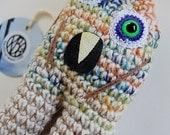 SALE Autumn Chill Monster OOAK Crocheted Art Doll