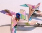 Pinwheel Hairpins