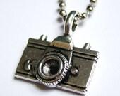 Camera Bug - Vintage Charm Necklace