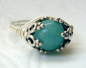 Captured Amazonite Ring