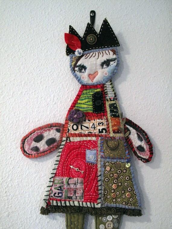 Quilty Art Doll