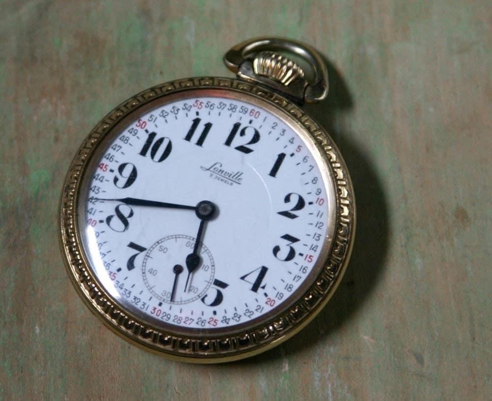 Pre War Swiss Lonville Pocket Watch Working
