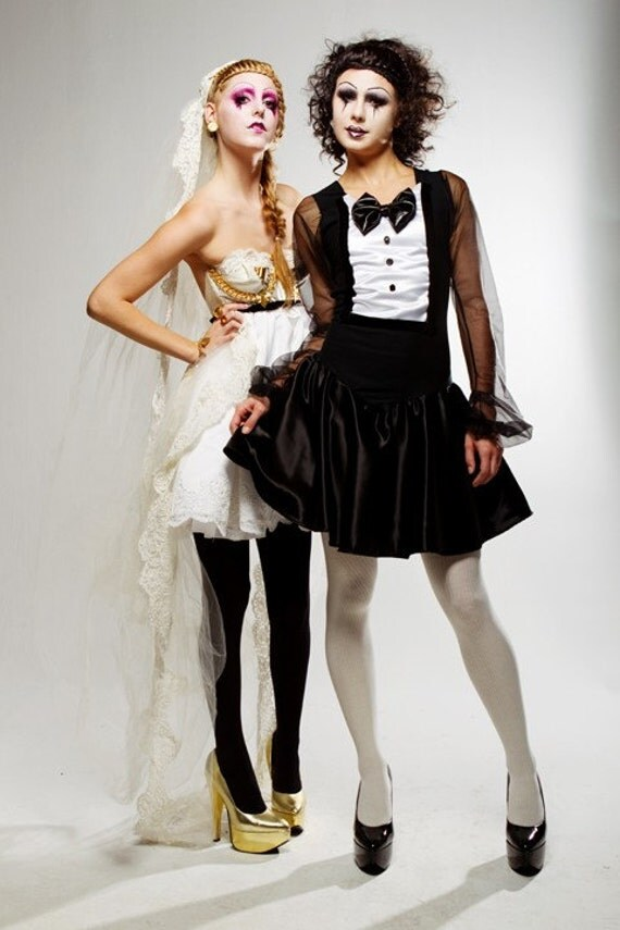 Limited Edition New York Couture LOVE Collection Lydia Tuxedo Dress