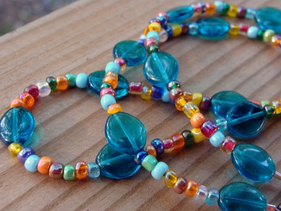 Handmade Eyeglass Chain - Bright and Shiny