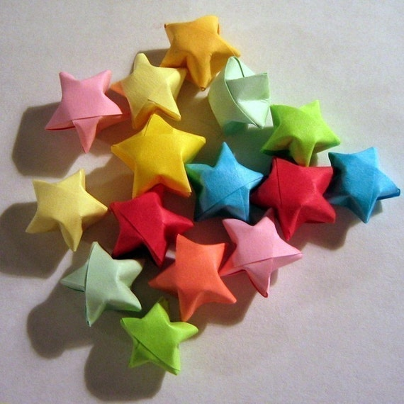 50 Origami Stars