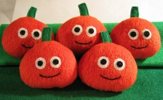 Pet Pumpkin Plushie