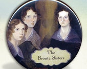 Bronte Sisters Pocket Mirror tartx