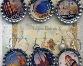Italy Part One travel vintage poster Drink Charms tartx