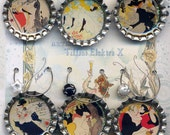 Toulouse Lautrec Wine Beer Drink Charms