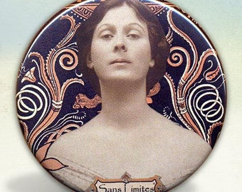 Isadora Duncan  Pocket Mirror