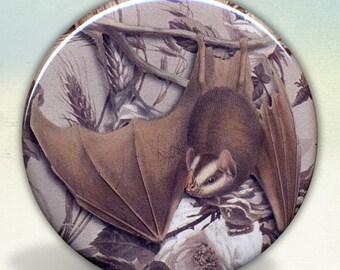 Hanging Bat pocket mirror tartx